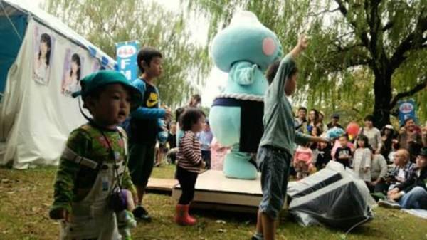 お湯の富士が江戸川区民まつりに参加しました。